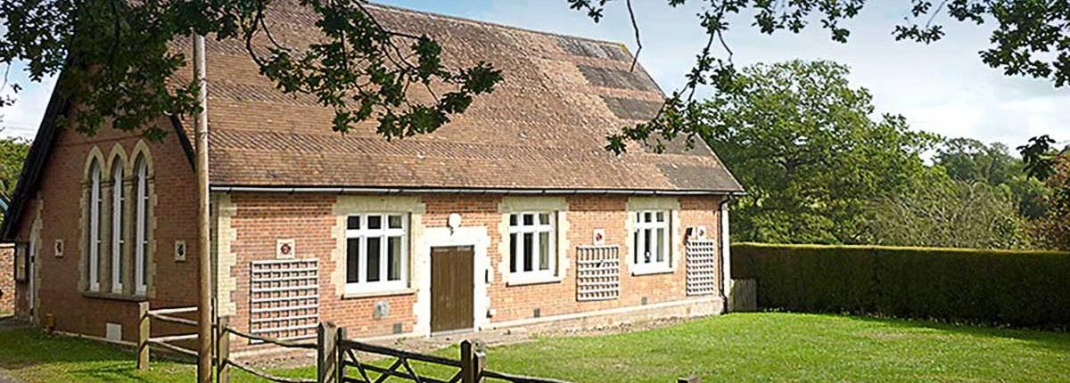 Eridge Village Hall - completely refurbished in 2015