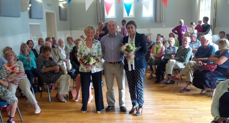 Eridge Village Hall opening ceremony