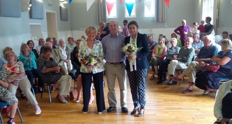 Eridge Village Hall opening ceremony